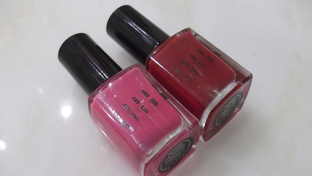 Nail Polish in Pink Valentine and Valentine Red