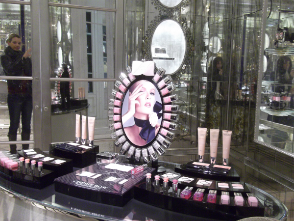 Dior Store Beauty Section