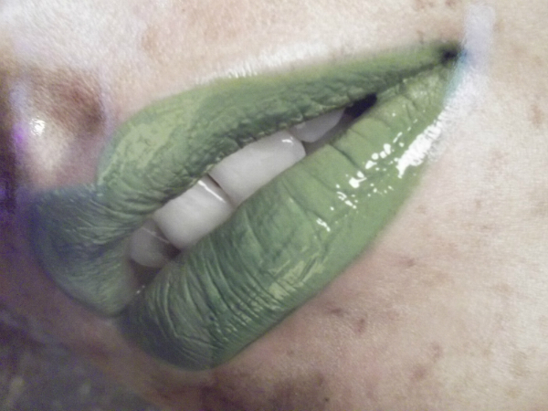 Illamasqua Intense Lip Gloss in Leaf Green