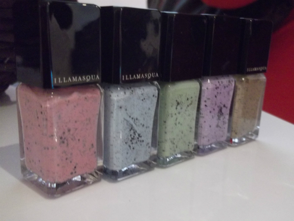 Illamasqua Speckled Nails