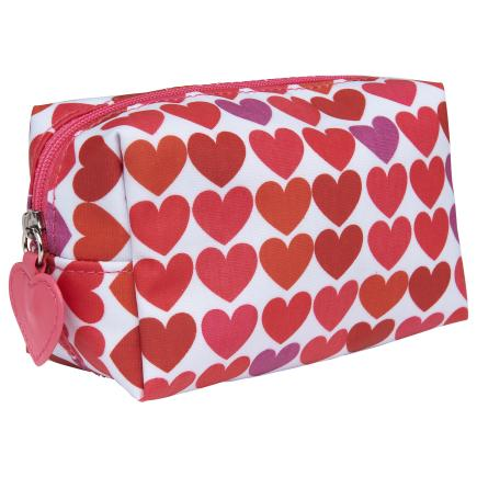 Limited Collection Heart Cosmetic Bag