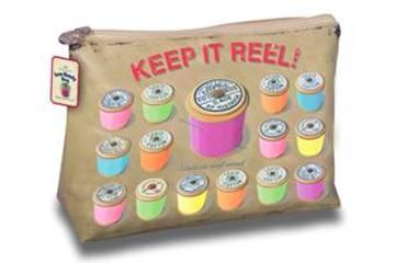 Sewing Reel Make Up Bag