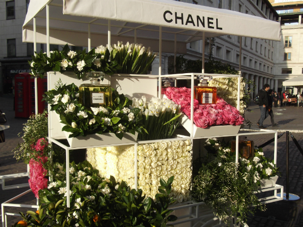 Chanel Flower Stall