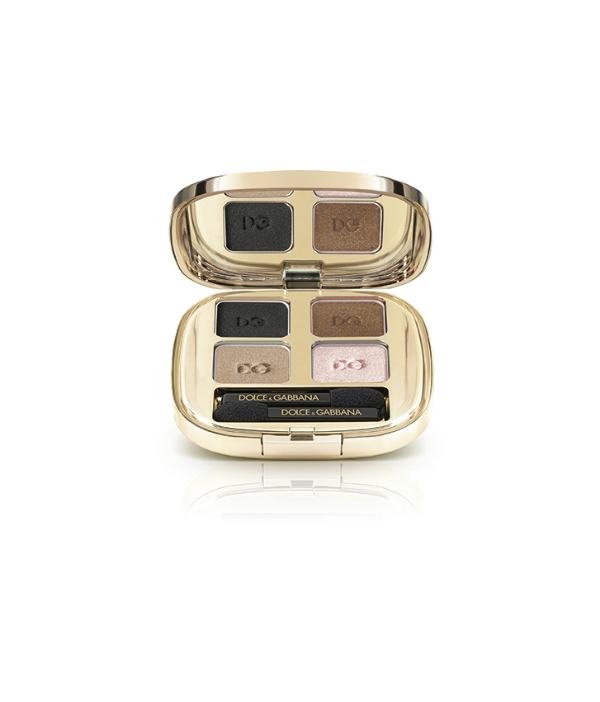 Dolce Gabbana True Monica Eyeshadow Quad in Smokey