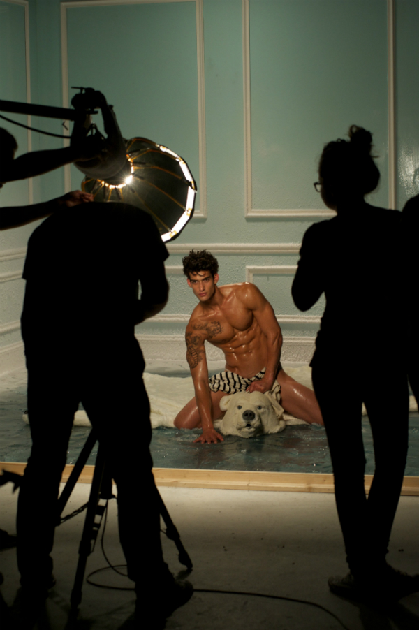The Making Of JPG Le Beau Male Ad