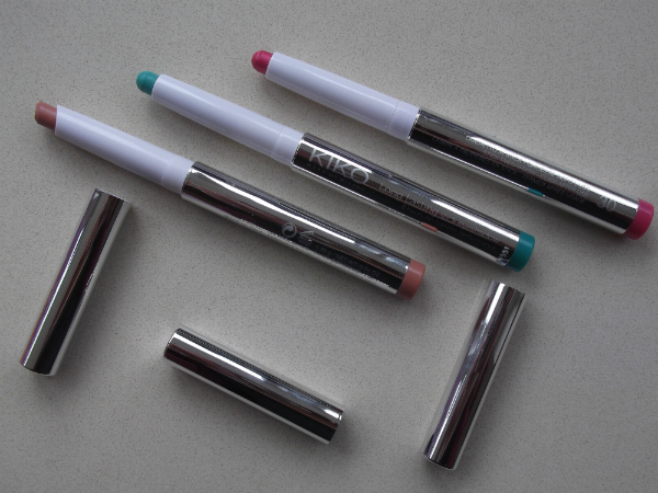 Kiko Long Lasting Stick Eyeshadow and Long Lasting Lipstick