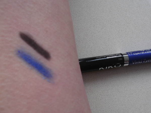 Kiko Vivid Eyes Swatch