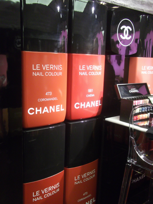 The Chanel Beauty Bar Covent Garden