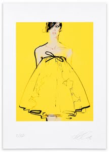 David Downton Digital Print: Valli