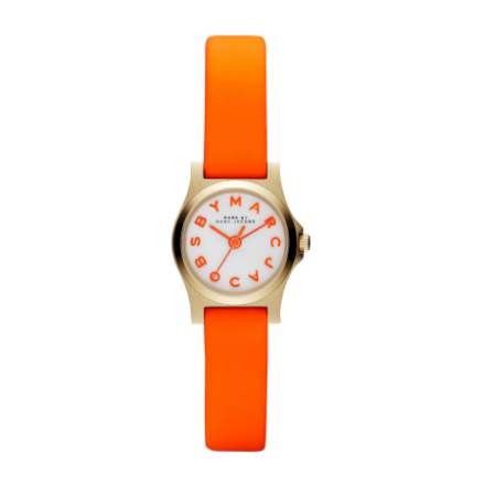 Marc Jacobs Neon Watch Orange