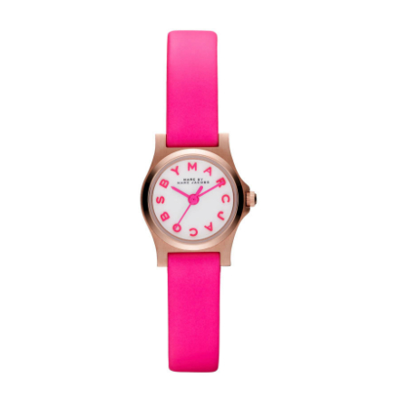 Marc Jacobs Neon Watch Pink