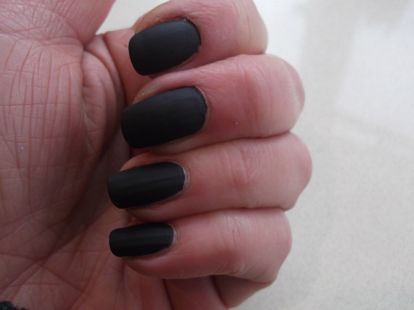 Ciate Chalkboard Nails SwatchTwo Coats