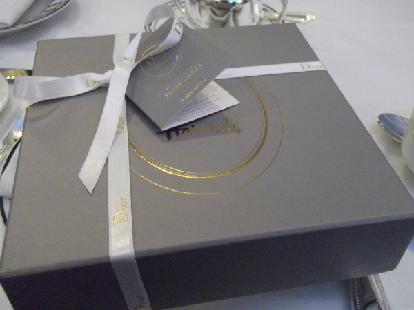 Dior Harrods Cake Box