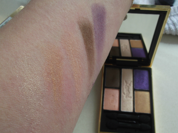 YSL Ombres 5 Lumieres Collector Palette Swatch