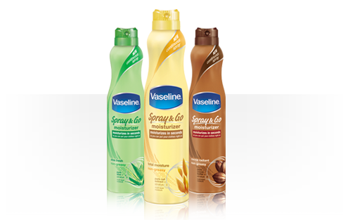 Vaseline Spray &amp; Go