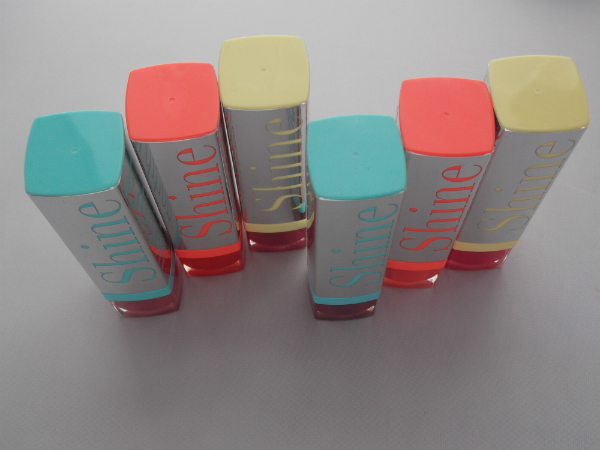 Bourjois Summer 2013 Shine Edition Lipsticks