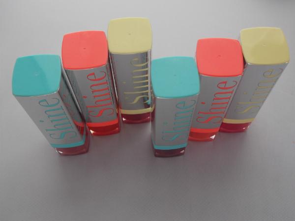 Bourjois Summer 2013 Shine Edition Lipsticks