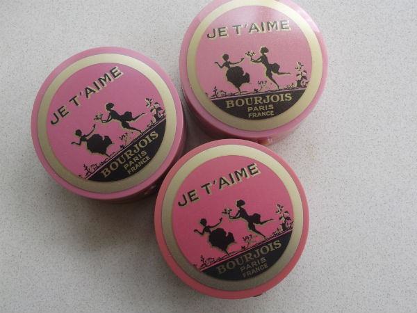 Bourjois Vintage Blush Pot Trio