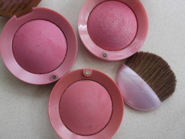 Bourjois Vintage Blush Pots Open