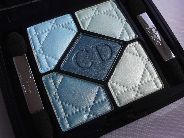 Dior Birds of Paradise 5 Couleur Palette in Blue Lagoon
