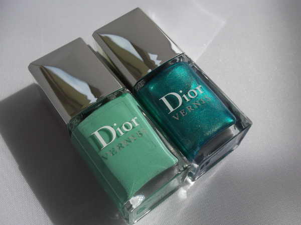 Dior Birds of Paradise Nail Duo Samba