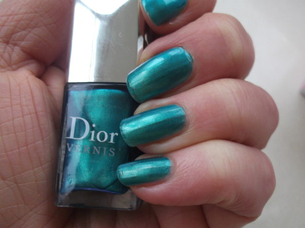 Dior Summer 2013 Nails Samba Duo
