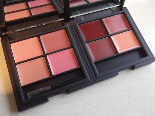 Sleep MakeUp Lip4 Palettes in Ballet and Havana