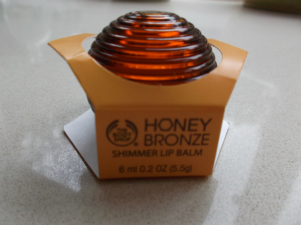 Body Shop Honey Bronze Shimmer Lip Balm