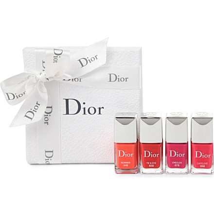 Dior Nail Polish Box