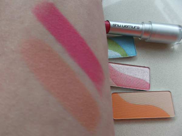 Shu Uemura Eye-Conic Rouge Unlimited Swatches