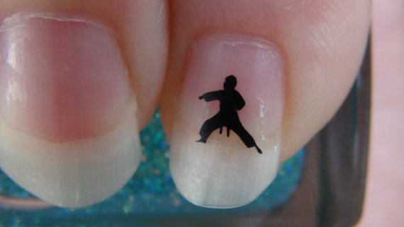 Karate Kick Nails
