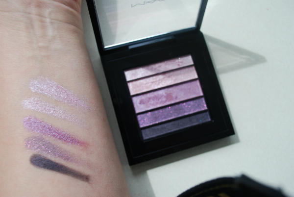 MAC Veluxe Pearlfusion Shadow Palette in Pinkluxe Swatch