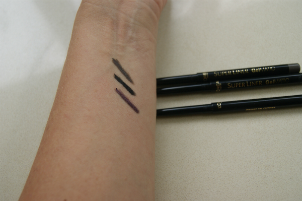 L'Oreal Paris Superliner Gelmatic Liner Swatch
