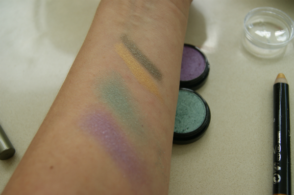 Max Factor Wild Collection Swatches