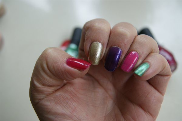 One Direction Nail Swatch