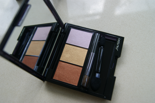 Shiseido Into The Woods Satin Eye Color Trio