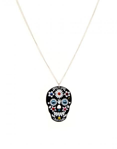 Tatty Divine Sugar Skull Necklace.