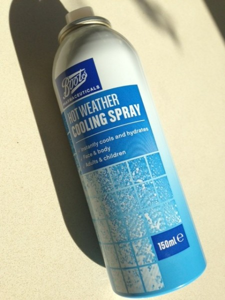 Boots Hot Weather Cooling Spray