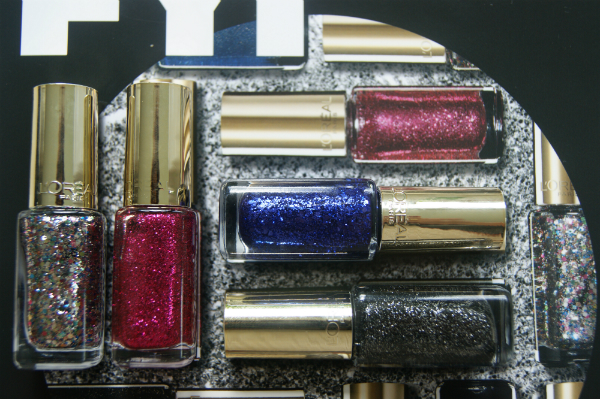 L'Oreal Color Riche Glitter Nails Collection