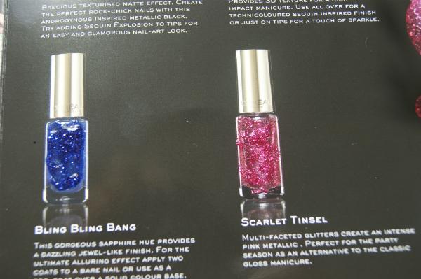 L'Oreal Glitter Nails