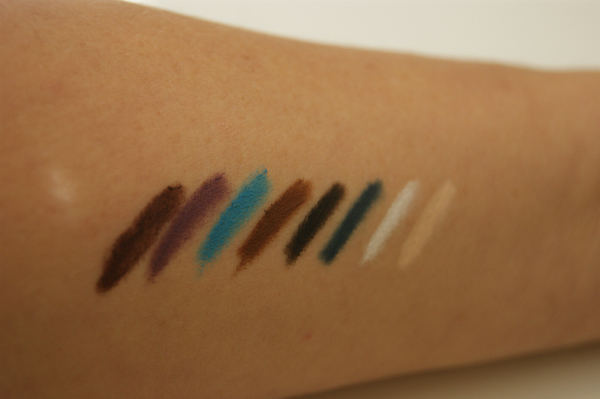 Illamasqua Eye Pencils Swatch