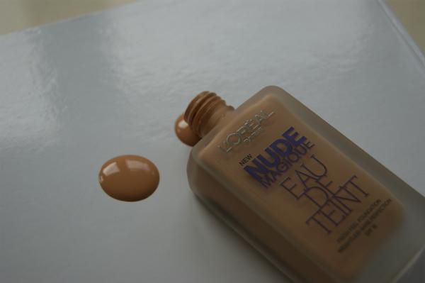 L'Oreal Nude Magique Eau de Teint Spill