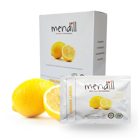 Mendill Lemon Towelettes
