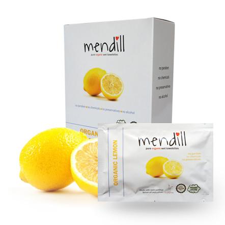 Mendill Lemon Towelettes