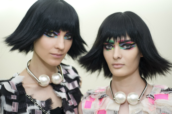 Chanel Backstage Makeup SS14