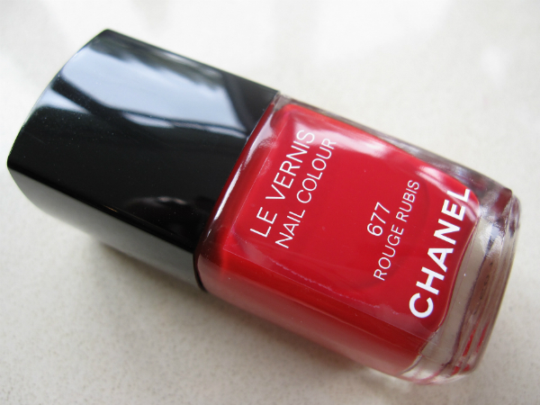 Chanel Christmas 2013: Le Vernis Rouge Rubis