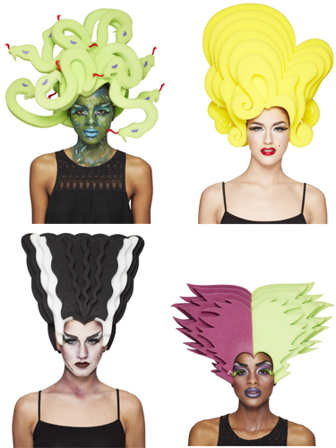 Chris Marsh Foam Wigs