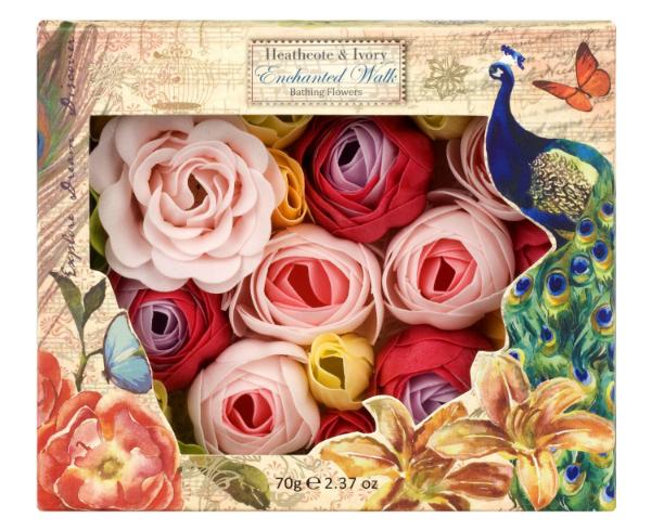 Heathcote & Ivory ENCHANTED WALK BATHING FLOWERS