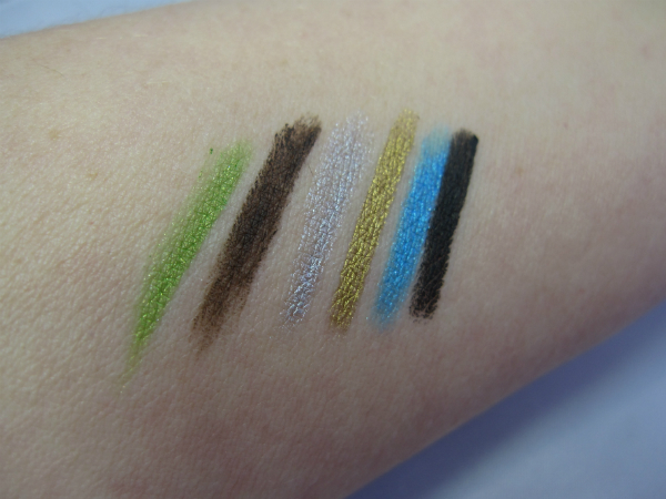 Max Factor Excess Eyeliner Swatch