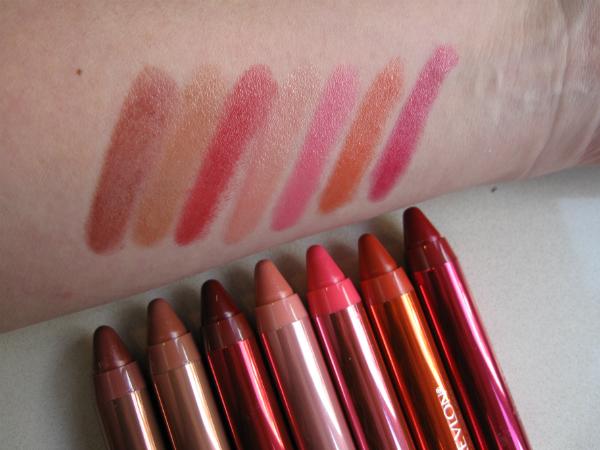Revlon ColorBurst Crayon Laquer Balm Swatch 1